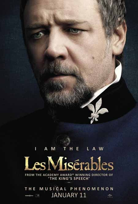 Sefiller / Les Misérables Karakter Posterleri