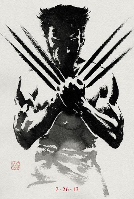 The Wolverine'den Teaser Poster