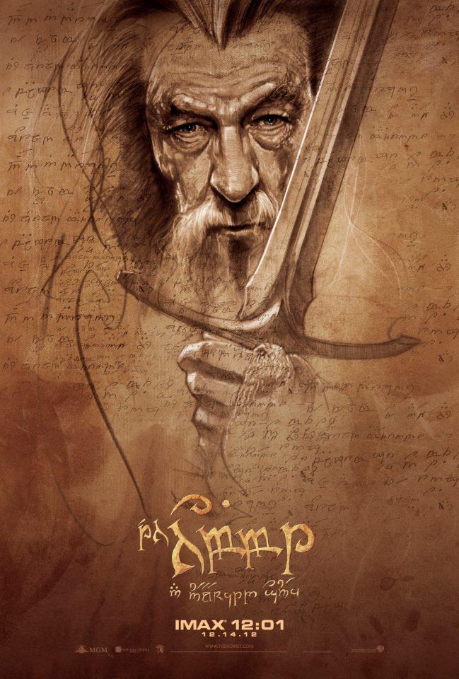 Hobbit'den Imax Afişleri