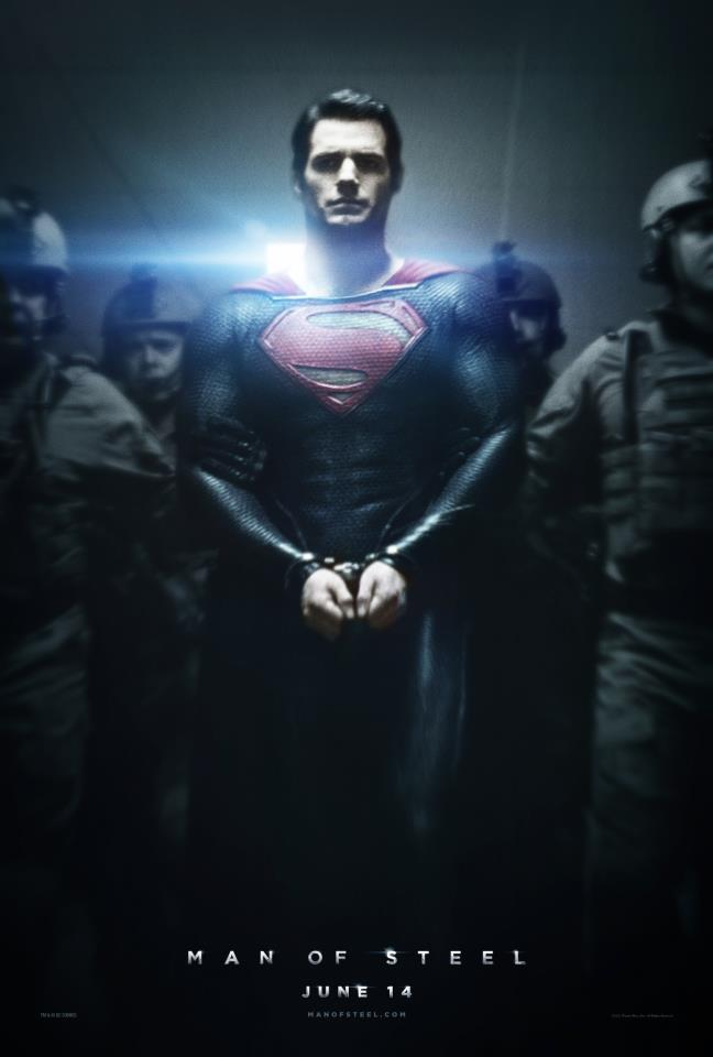 Man of Steel'den Afiş