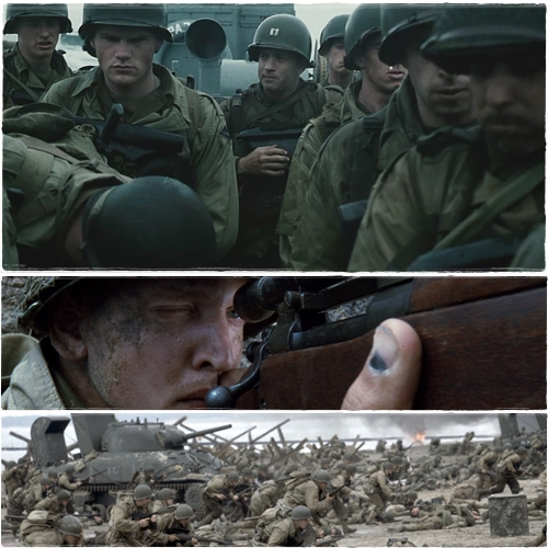 a report on the movie saving private ryan Opening with the allied invasion of normandy on 6 june 1944, members of the 2nd ranger battalion under cpt miller fight ashore to secure a beachhead.