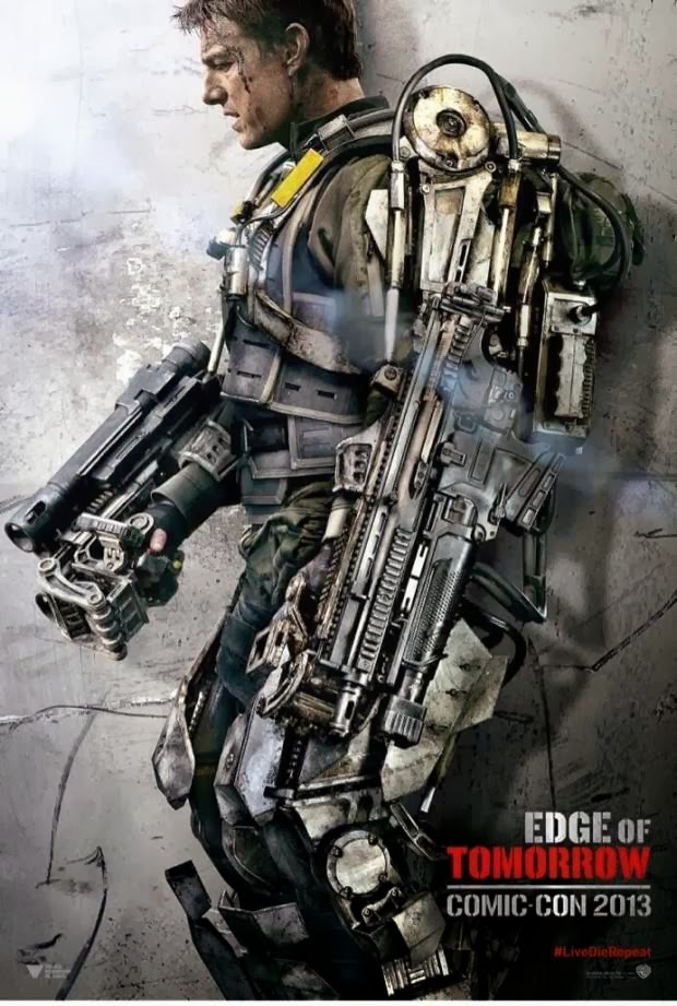 Edge Of Tomorrowdan Ilk Fragman Ve Afişler Yayınlandı