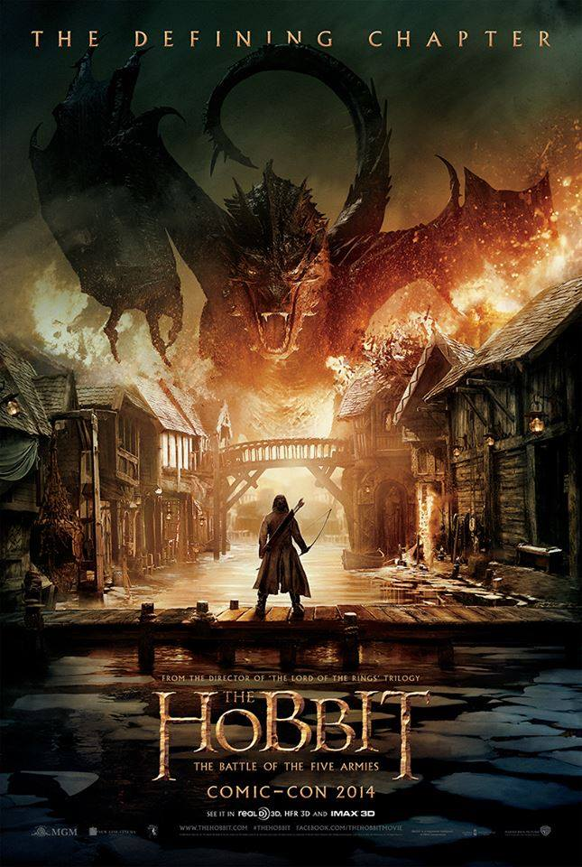 The Hobbit: The Battle of Five Armies'dan İlk Fragman
