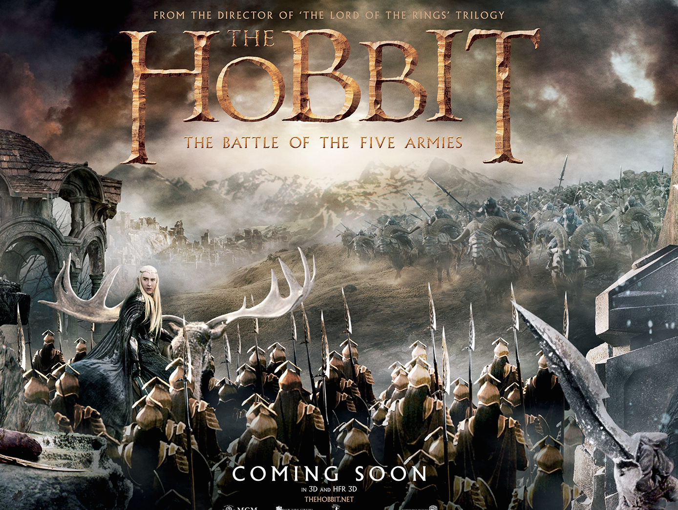 Hobbit: The Battle of The Five Armies'den Yeni Fragman!