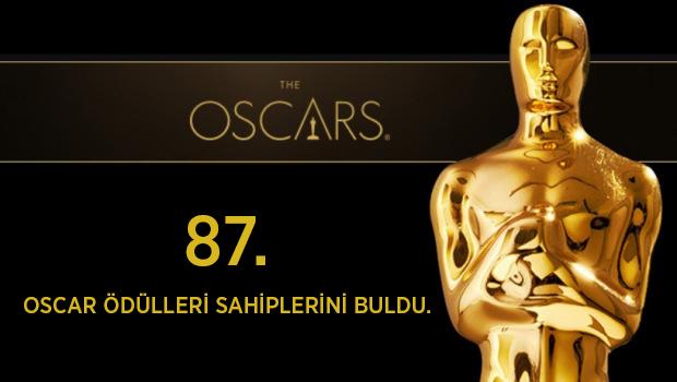 2015 Oscar Ödülleri Sahiplerini Buldu.