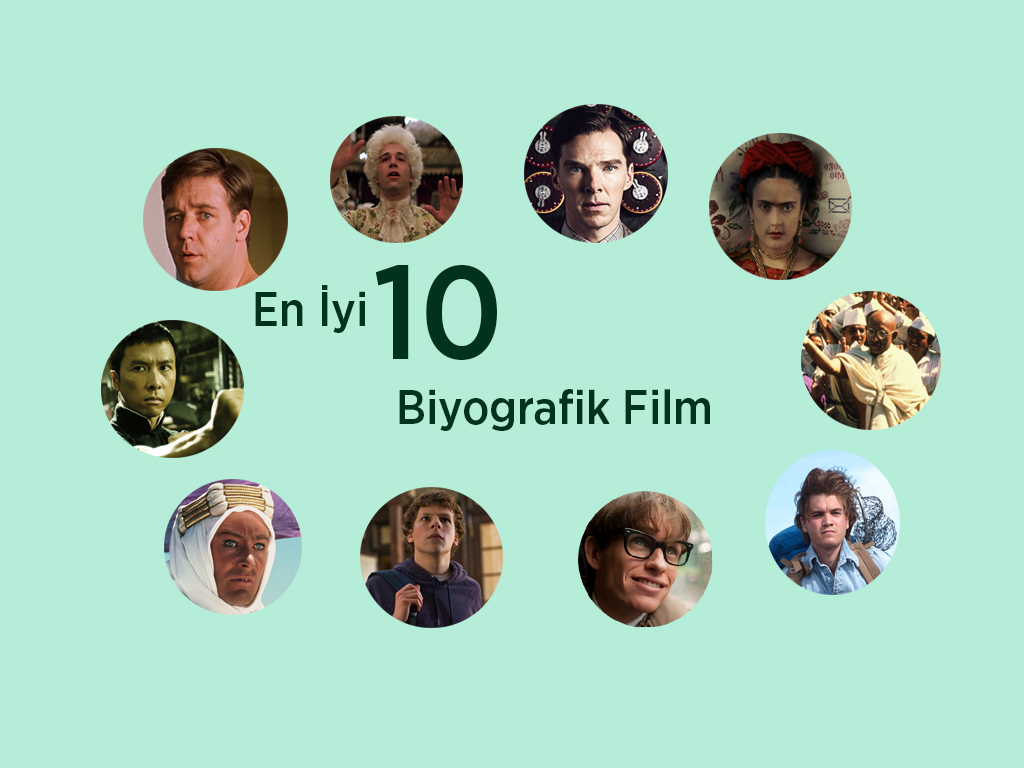 En İyi 10 Biyografik Film