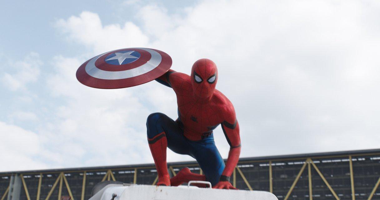 Captain America: Civil War'dan Spider-Man'li Fragman Yayınlandı!