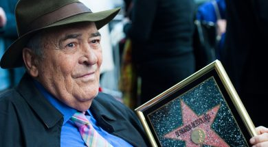 Director Bernardo Bertolucci  Celebrates His Star On The Hollywood Walk Of Fame