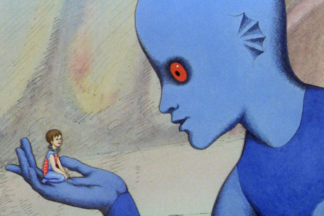 La planète sauvage (1973): Hayatta Kalma İçgüdüsü