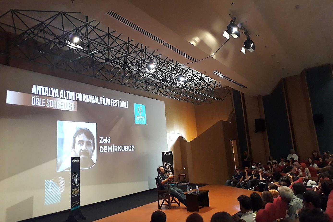 56. Antalya Film Festivali Kapsamında Düzenlenen Zeki Demirkubuz Söyleşisi